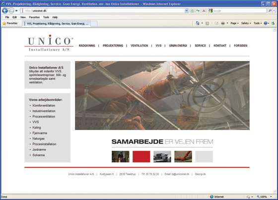 UNICO Installationer